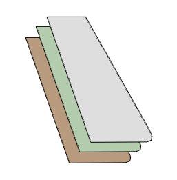QUARTERLITE GLASS (EACH)