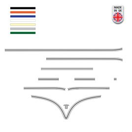 DELUXE BODY TRIM KIT (POLISHED)