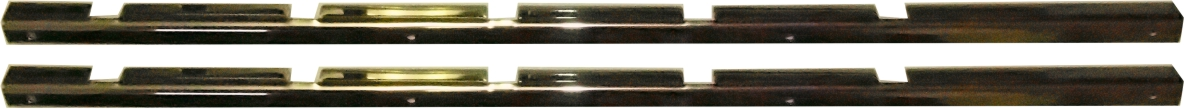 POLISHED LOCK STRIP (PAIR)