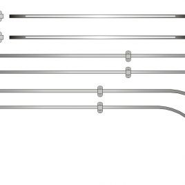 55 – 63 JAIL BAR COMPLETE KIT