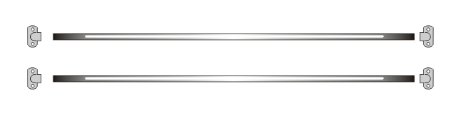 55 – 63 REAR JAIL BAR KIT