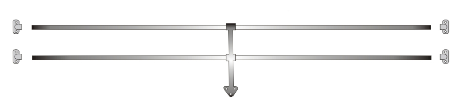 64 – 67 REAR WINDOW JAIL BAR KIT