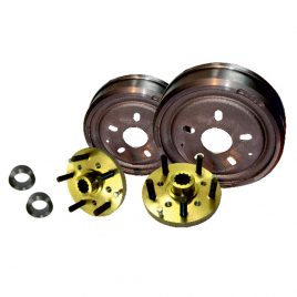 CE CHEVY 4.75″ PCD HUBS & DRUMS
